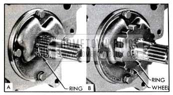1951 Buick Installing Parking Lock Ratchet Wheel
