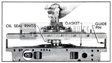 1951 Buick Installing Reaction Shaft Flange and Gasket