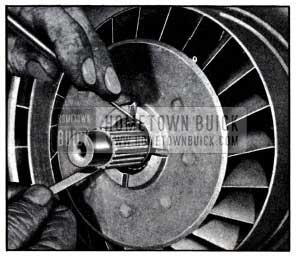 1951 Buick Installing Reaction Shaft Retaining Ring