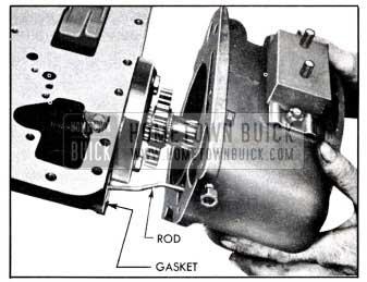 1951 Buick Installing Rear Bearing Retainer