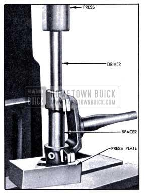 1951 Buick Installing Steering Knuckle Bushing