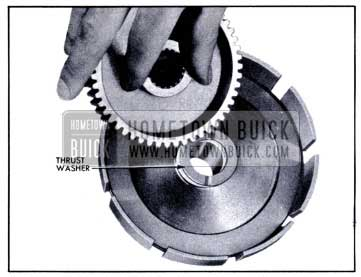 1951 Buick Installing Thrust Washer and Clutch Hub In Reaction Gear