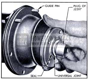 1951 Buick Installing Torque Ball and Retainer