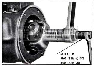 1951 Buick Installing Universal Joint