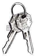1951 Buick Keys