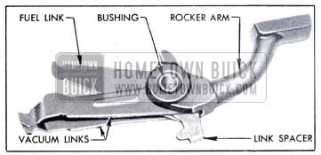 1951 Buick Links, Spacer, Rocker Arm, and Bushing Assembled