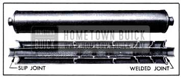 1951 Buick Muffler-Sectional View