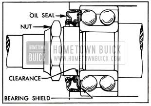 1951 Buick Pinion Bearing Oil Seal
