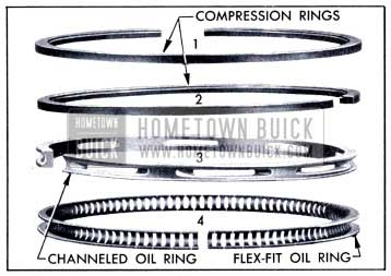 1951 Buick Piston Rings