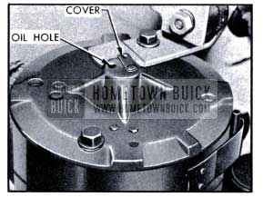 1951 Buick Power Unit Motor Oil Hole