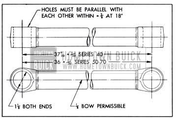1951 Buick Radius Rod Dimensions