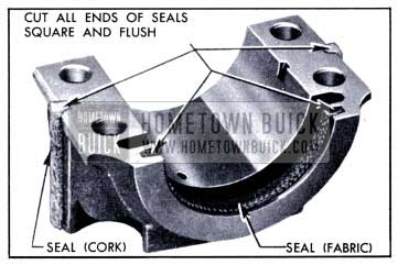 1951 Buick Rear Bearing Oil Seals