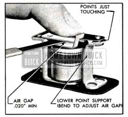 1951 Buick Relay Air Gap Adjustment