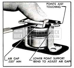 1951 Buick Relay Air Gap Adjustment