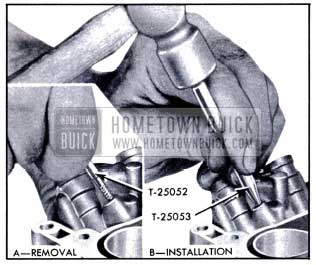 1951 Buick Removal and Installation of Ball Plugs