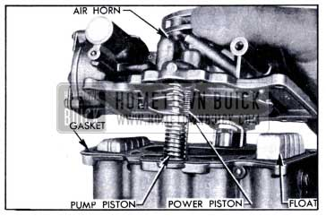 1951 Buick Removing Air Horn and Attached Parts