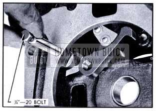 1951 Buick Removing Lock Pawl Shaft