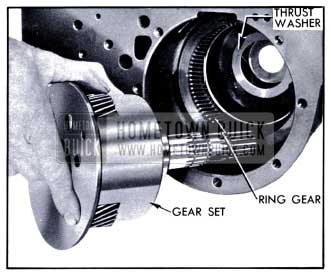 1951 Buick Removing Planetary Gear Set