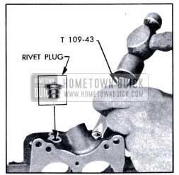 1951 Buick Removing Rivet Plug