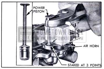 1951 Buick Removing Vacuum Power Piston