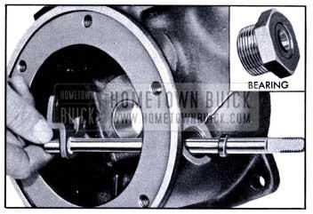 1951 Buick Removing Valve Operating Cross Shaft