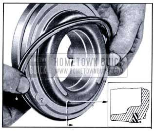 1951 Buick Replacement of Clutch Piston Outer Seal