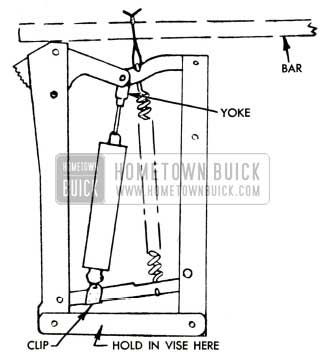 1951 Buick Seat Adjuster Regulator