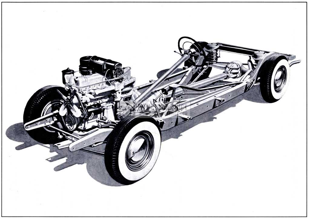 1951 Buick Series 40 Chassis