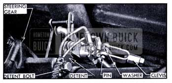 1951 Buick Shift Rod Adjustment