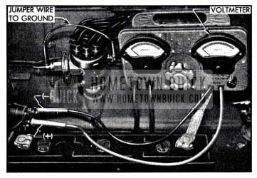 1951 Buick Solenoid Switch Contact Test Connections