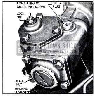 1951 Buick Steering Gear Adjustments