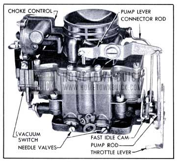 1951 Buick Stromberg Carburetor Assembly