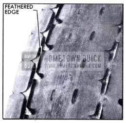 1951 Buick Toe-in or Toe-out Tread Wear