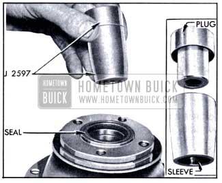 1951 Buick Torque Ball Installing Tool J 2597