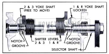 1951 Buick Transmission Shift Interlock