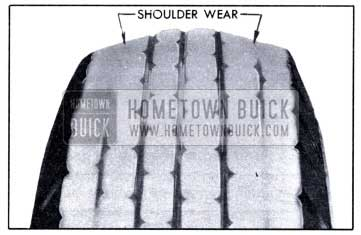 1951 Buick Underinflation Tread Wear