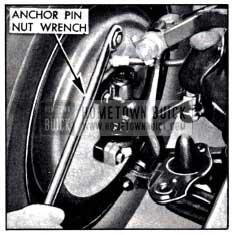 1951 Buick Using Anchor Pin Nut Wrench J 854