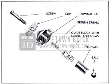 1951 Buick Vacuum Switch Parts