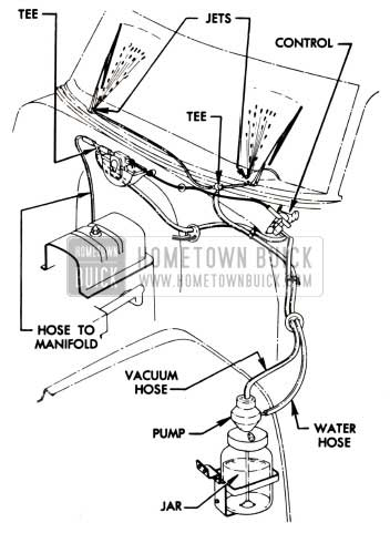 1951 Buick Windshield Washer Installation