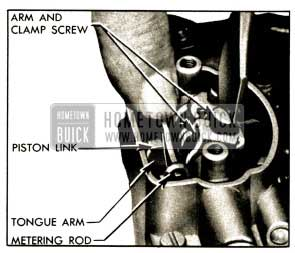 1952 Buick Adjusting Metering Rods