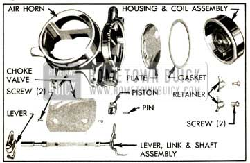 1952 Buick Air Horn and Climatic Control-Disassembled