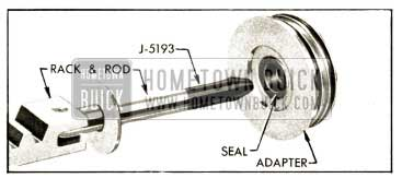 1952 Buick Application of Rod Inserter J 5193