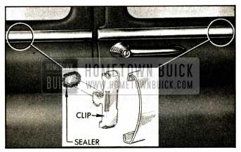 1952 Buick Belt Molding Installation-Series 40 Closed Body