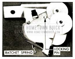 1952 Buick Cable Tensioner