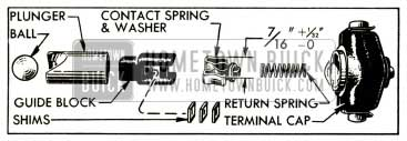 1952 Buick Carter Accelerator Vacuum Switch Parts