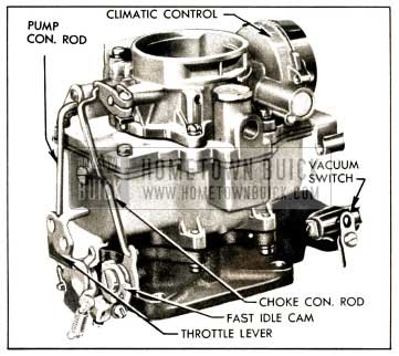1952 Buick Carter WCD Carburetor Assembly