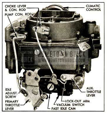 1952 Buick Carter WCFI Carburetor Assembly