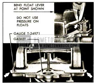 1952 Buick Checking and Adjusting Float Height