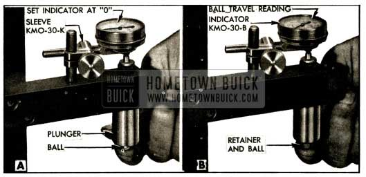1952 Buick Checking Ball Travel