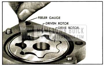 1952 Buick Checking Clearance Between Rotors